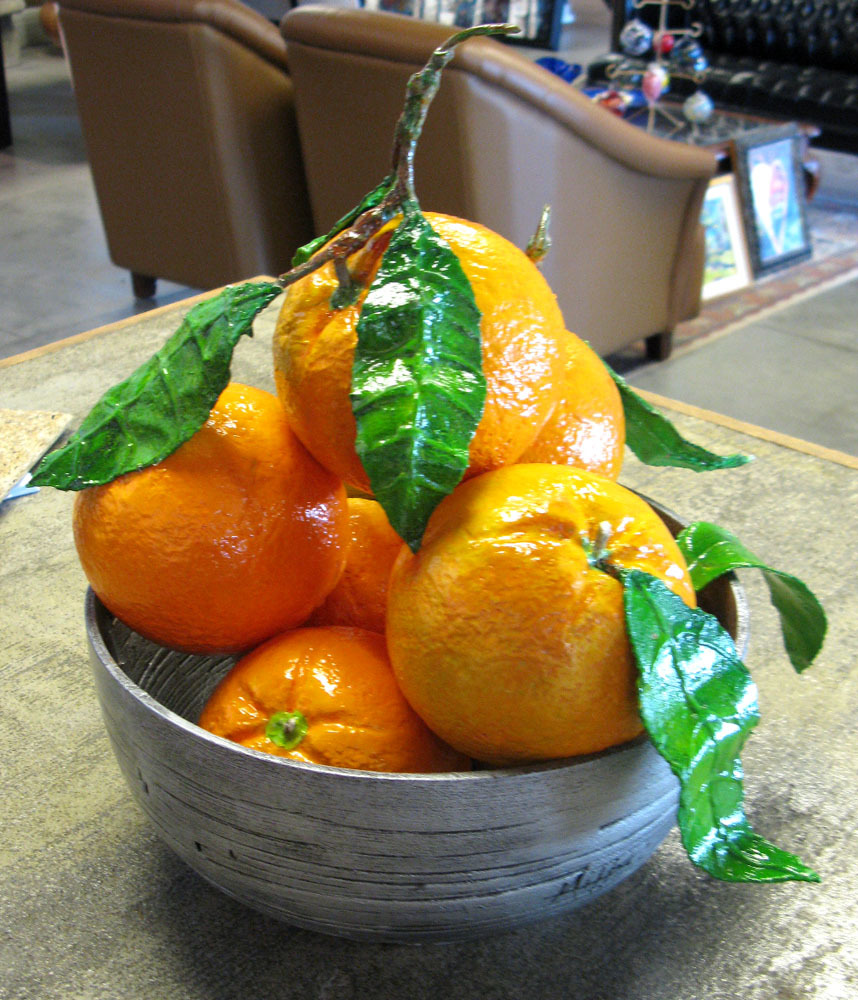 Oranges in Bowl (11-22501)