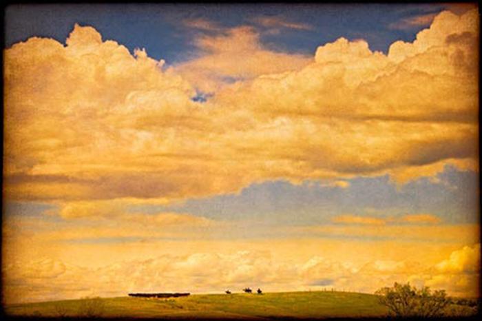 """Roundup at the Box L"" by Doug Landreth"