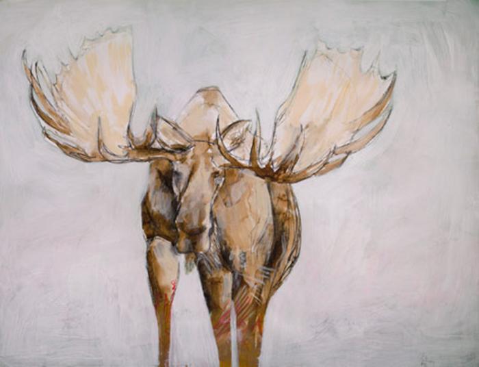 """Moose"" by Brenna Harvey"