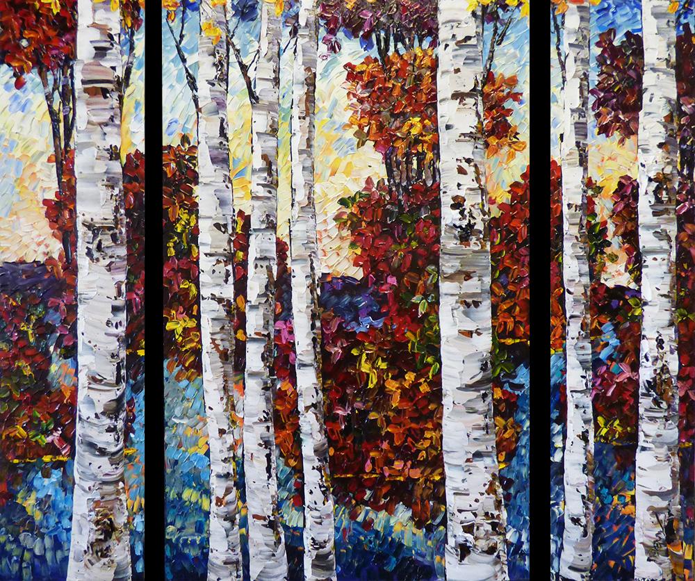 Birch Triptych (PP-15161)