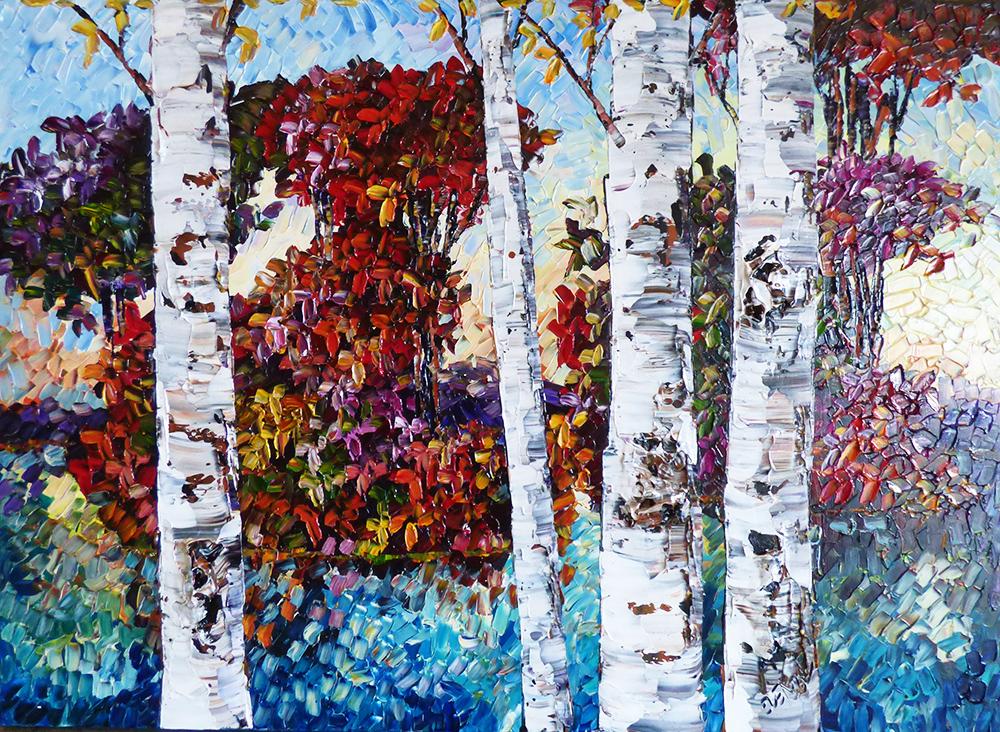 SOLD Birches (PP-15165)