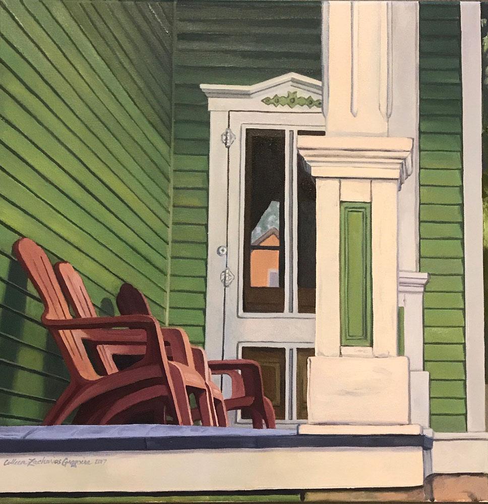 """Green Side Porch"" 17-24550"