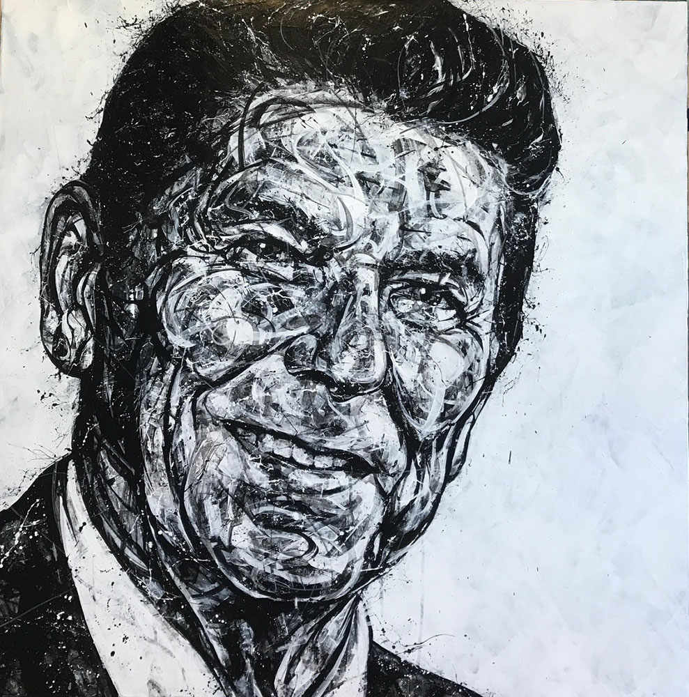 """Portrait of Reagan"" 17-24551"