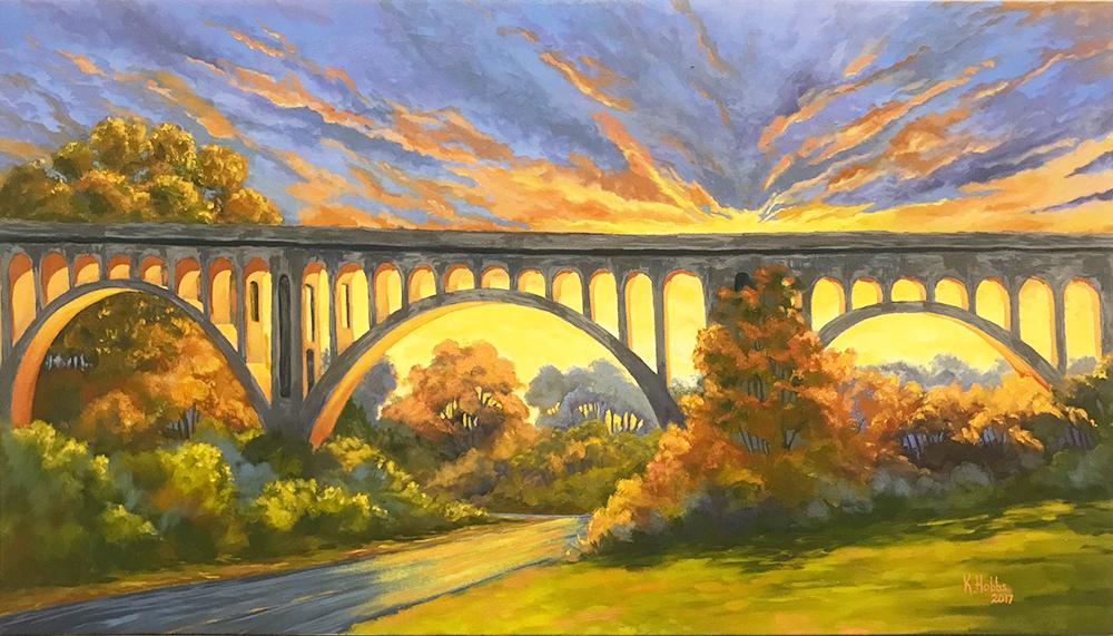 KC Southern Railway Bridge 17-24589