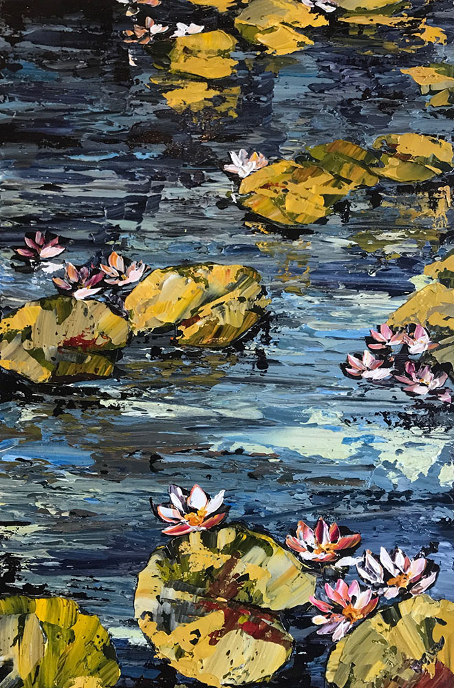 """""""Water Lilies""""  PP15193"""