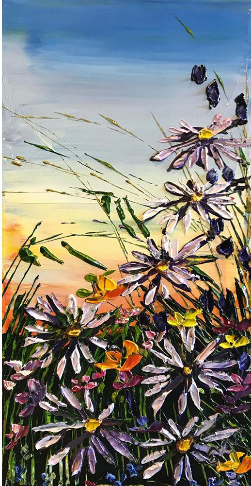 "Floral Daisies"" PP-15213"