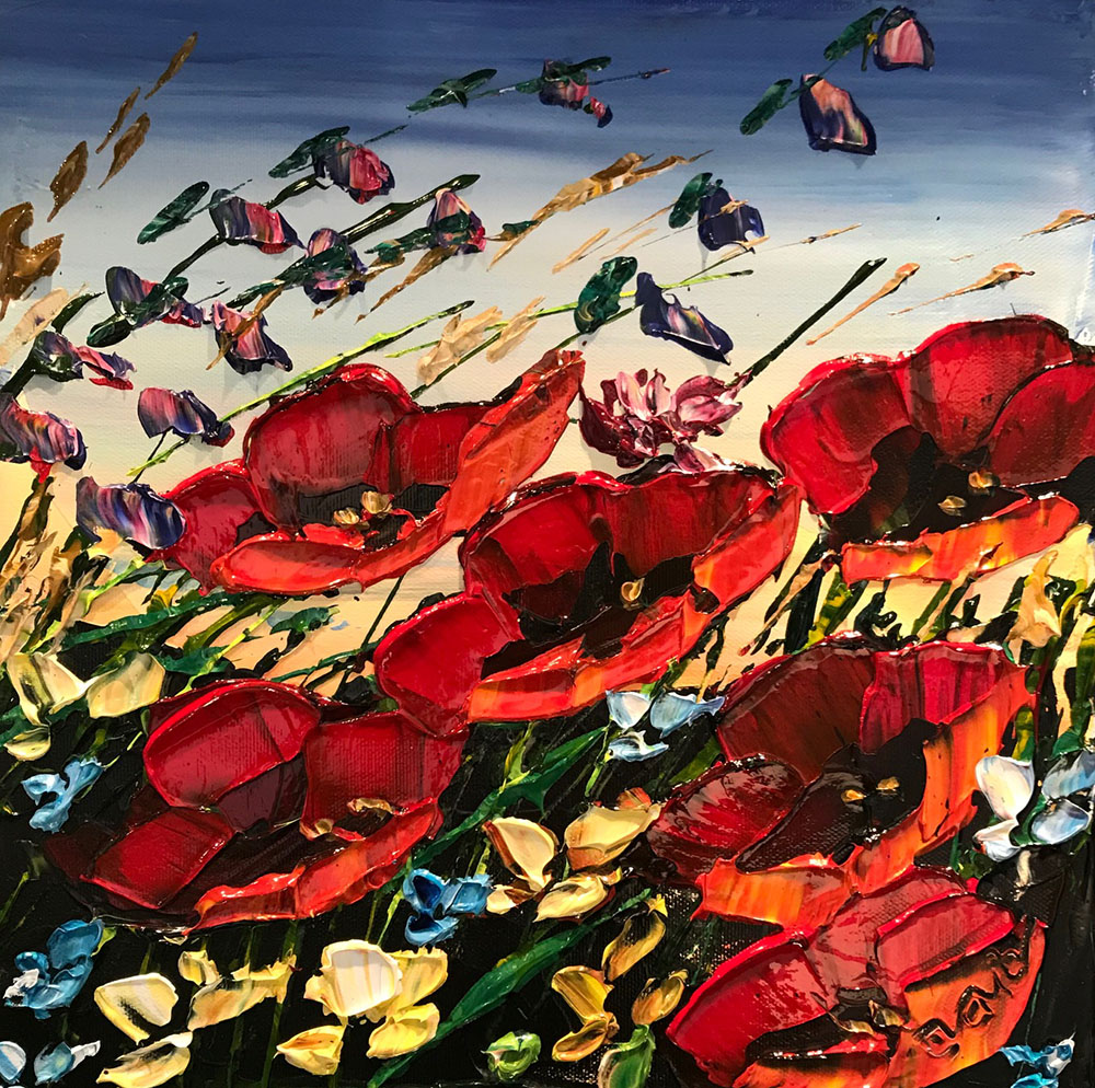 Red Poppies PP-15232