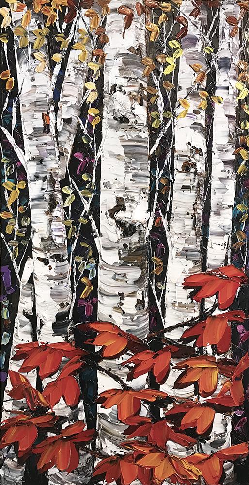 Night Birch PP-15245