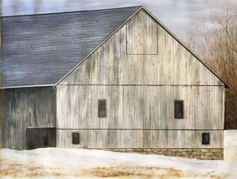 Weathered Barn (17-24471)