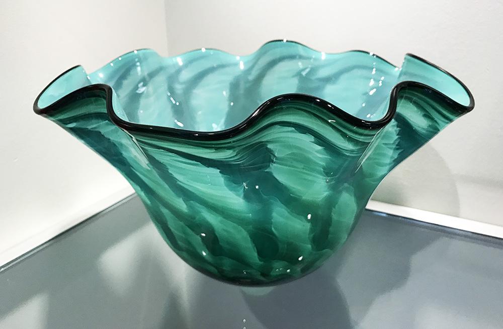 Scallop Bowl, Jade green (17-24638)