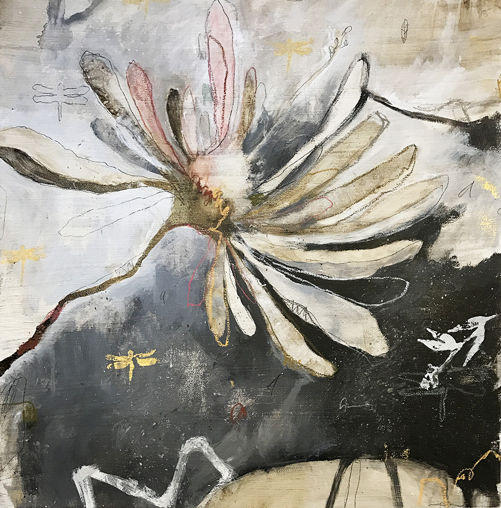 SOLD17-24578 S. Atkinson Untitled 34x34 mixed media on paper.JPG