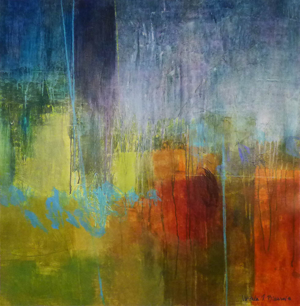 SOLD 16-24298 Brenner Untitled Abstract 36x36 acrylic on canvas.jpg