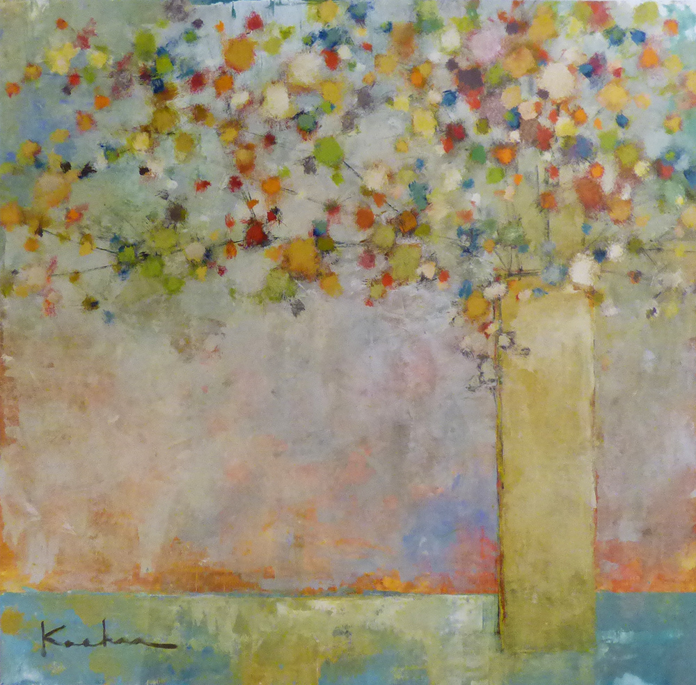 SOLD 16-24329 Koehn Floral 40x40 acrylic on canvas.jpg