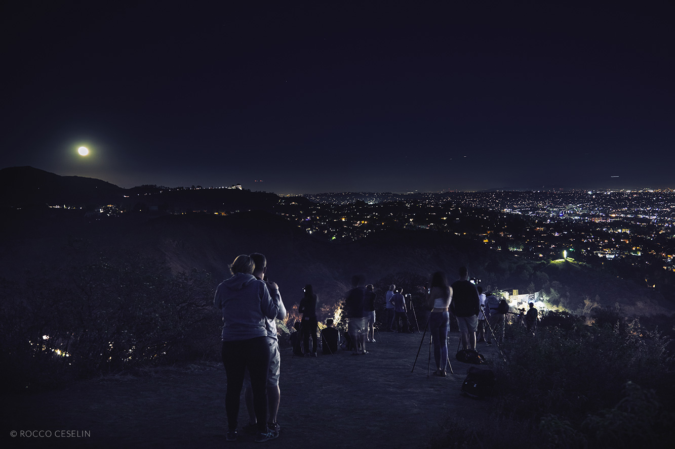 From Mulholland Drive Vista Point