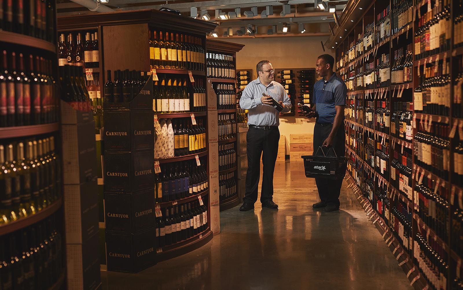 Wine Shop at Stars Store in Boston, MA