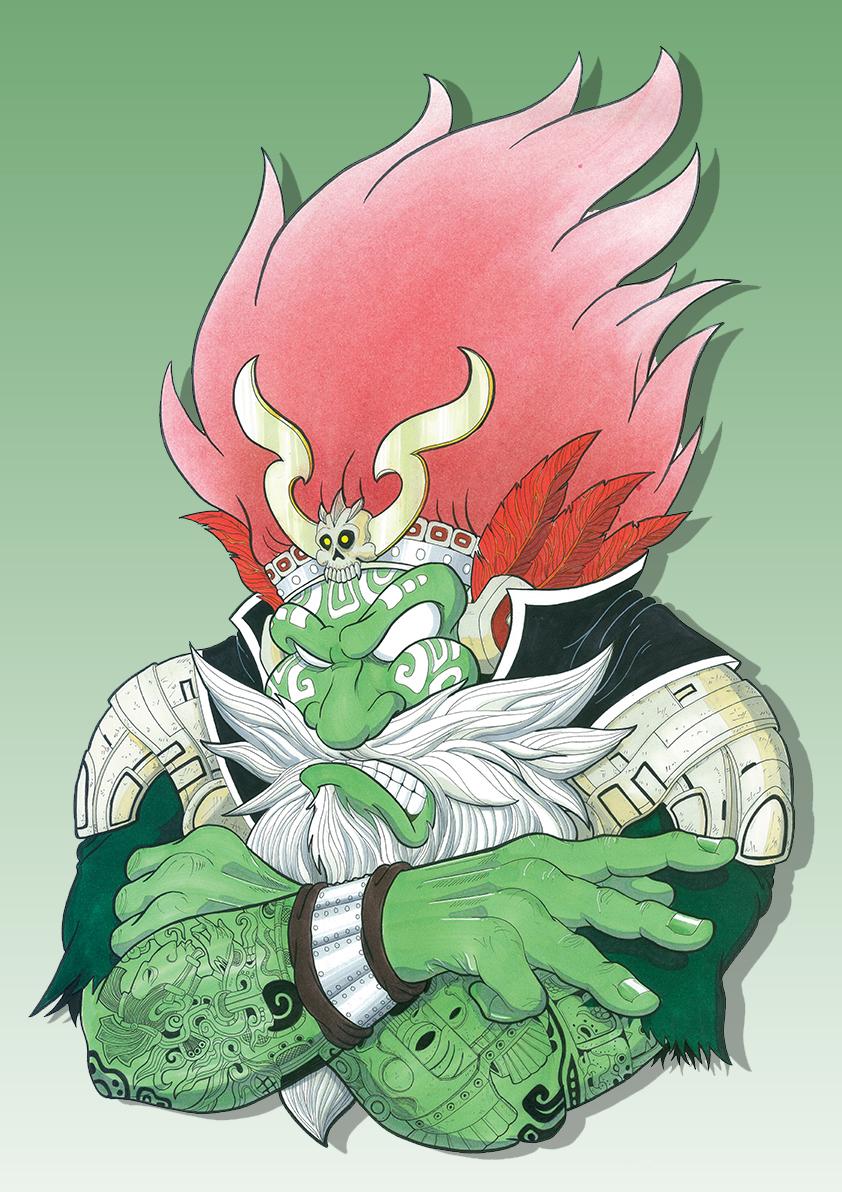 Mad Oni Bro. #3 (Tribus)