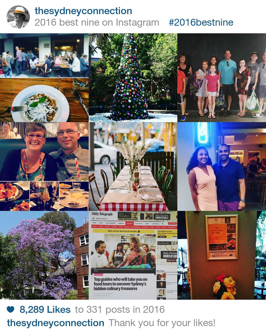 The Sydney Connection Best Nine 2016 on Instagram