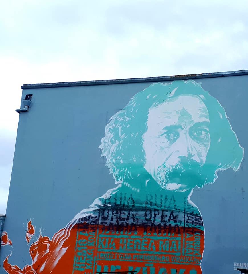 Street Art in Kingsland, Auckland