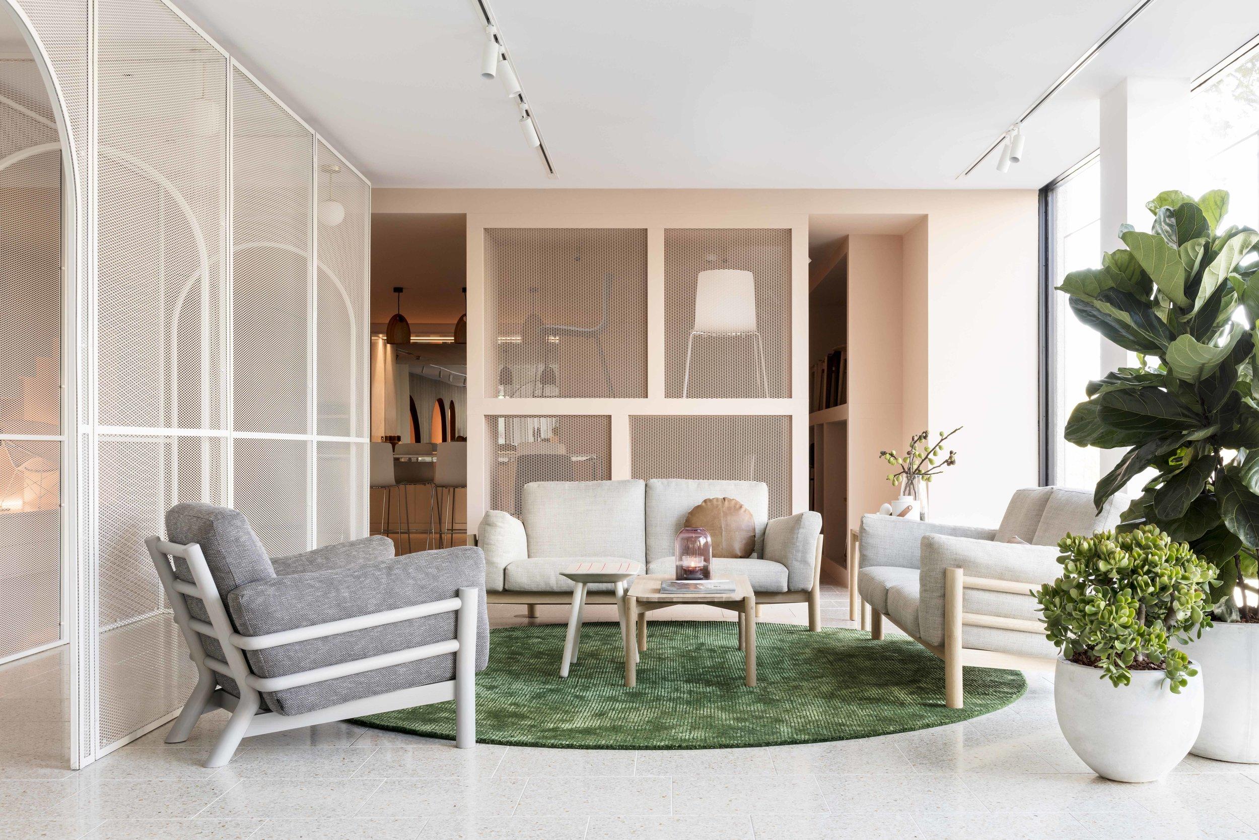 Furniture showroom Stylecraft East Sydney