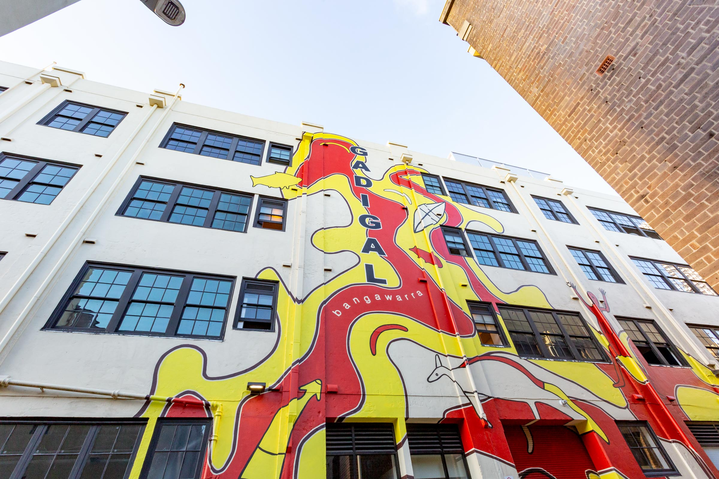 Australian Design Centre Gadigal mural Photo Credit   Jodie Barker