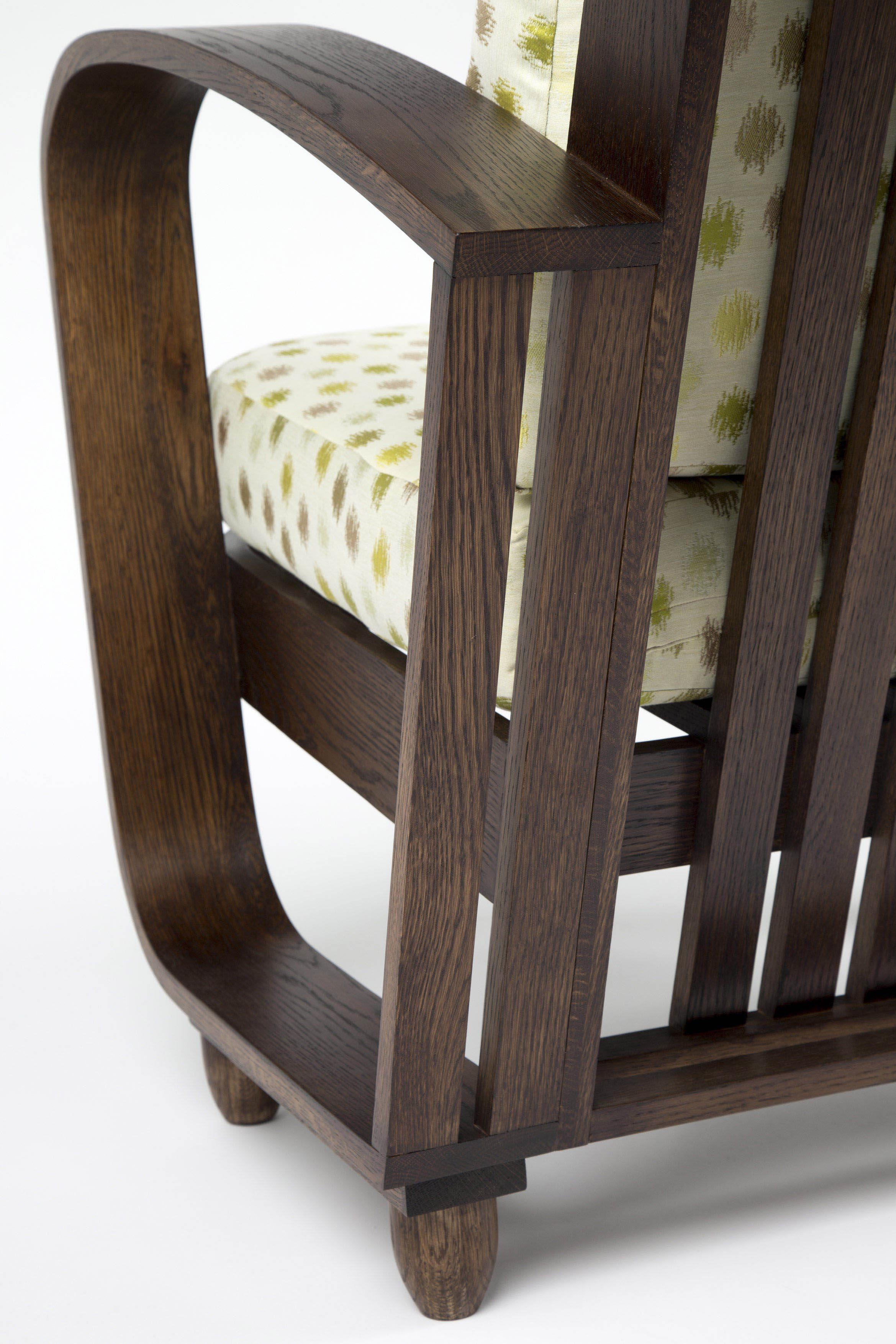 Bent Oak Chair. Jacqui Knight. UCOL.