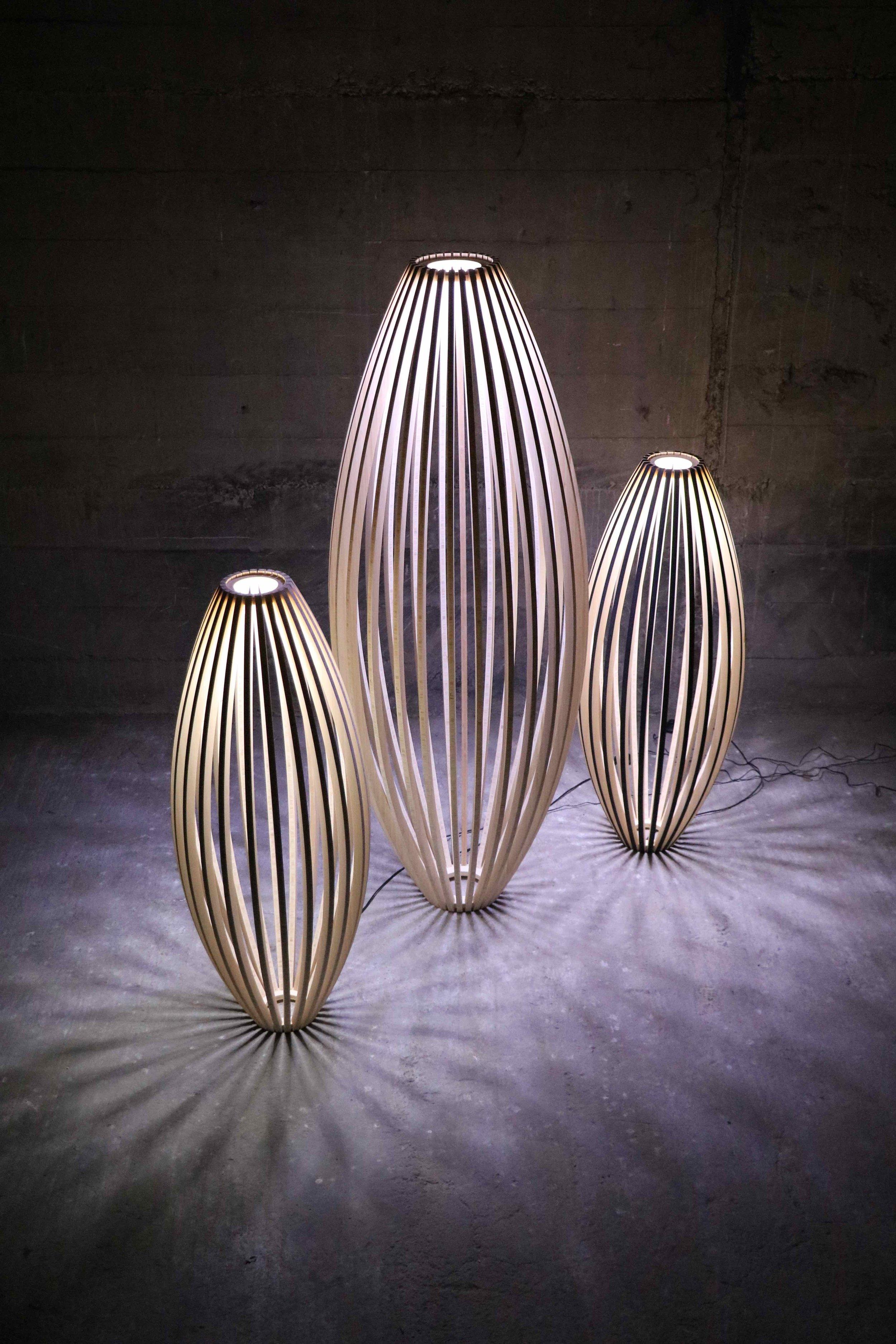 Conic Lamp. Gus Leen. Massey University.
