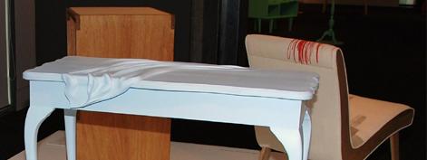 Table Cloth. Juliette Wanty. Victoria University.