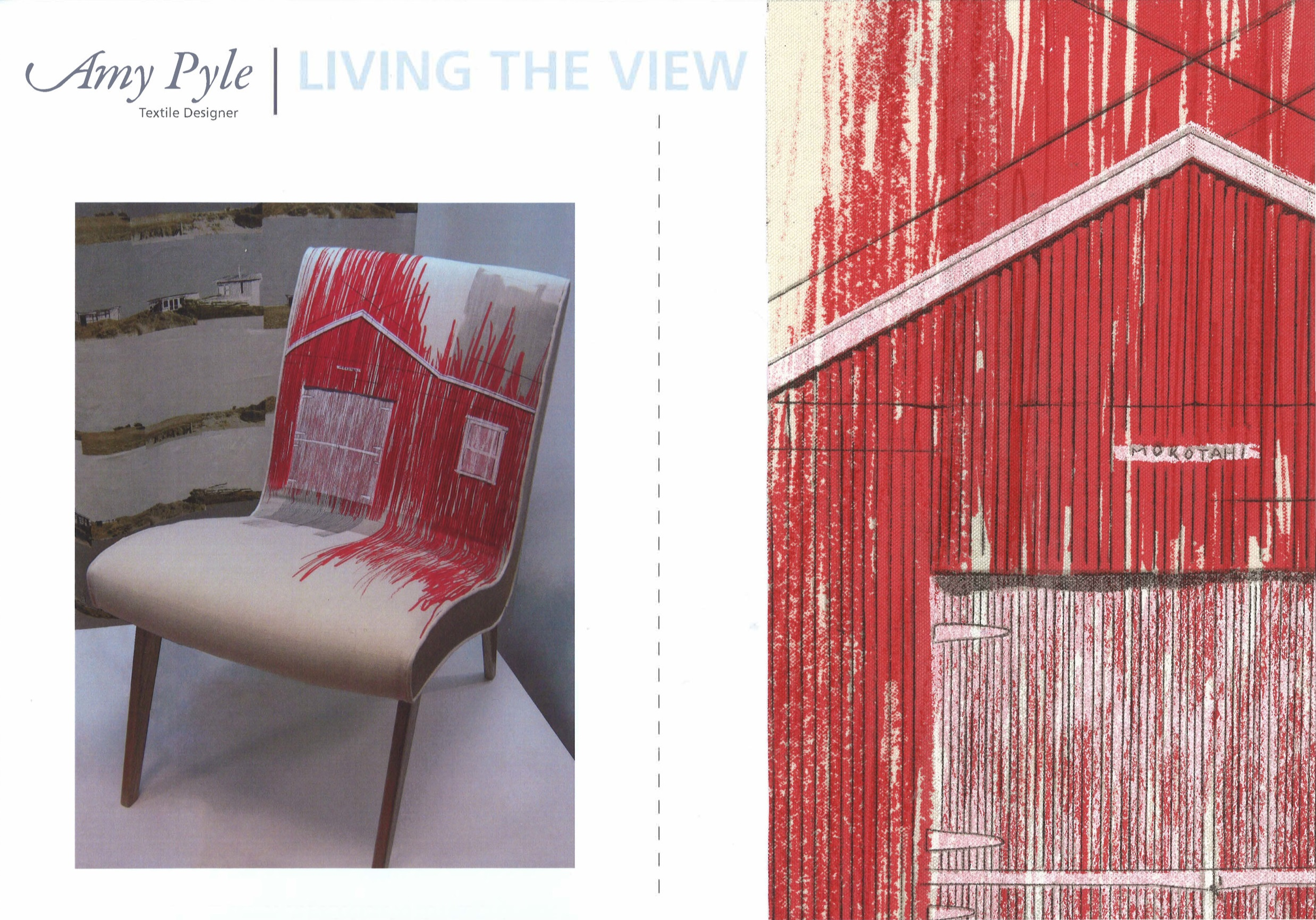 Living The View. Amy Pyle. Massey University.