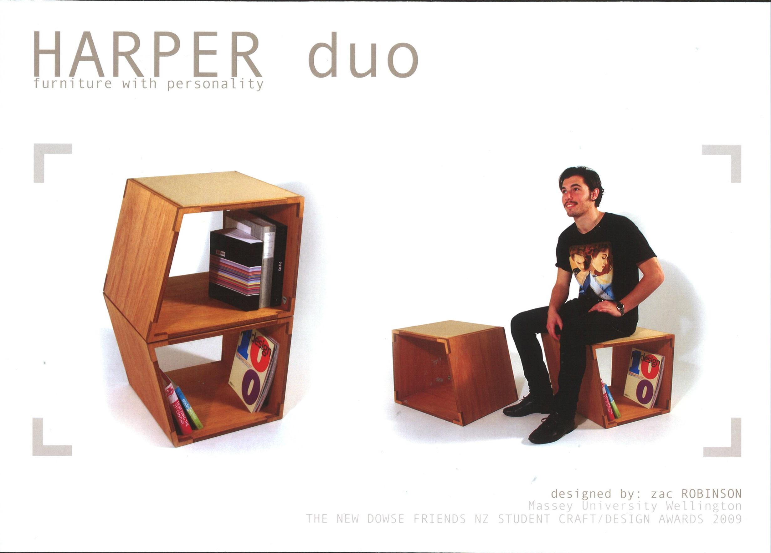 Harper Duo. Zac Robinson. Massey University.
