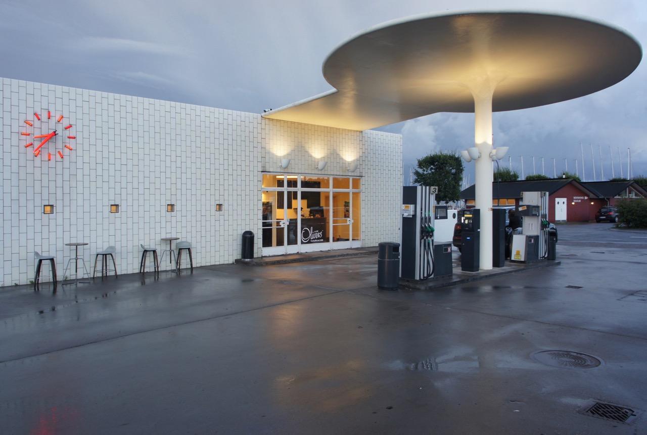 Skovshoved tank station, Arne Jacobsen