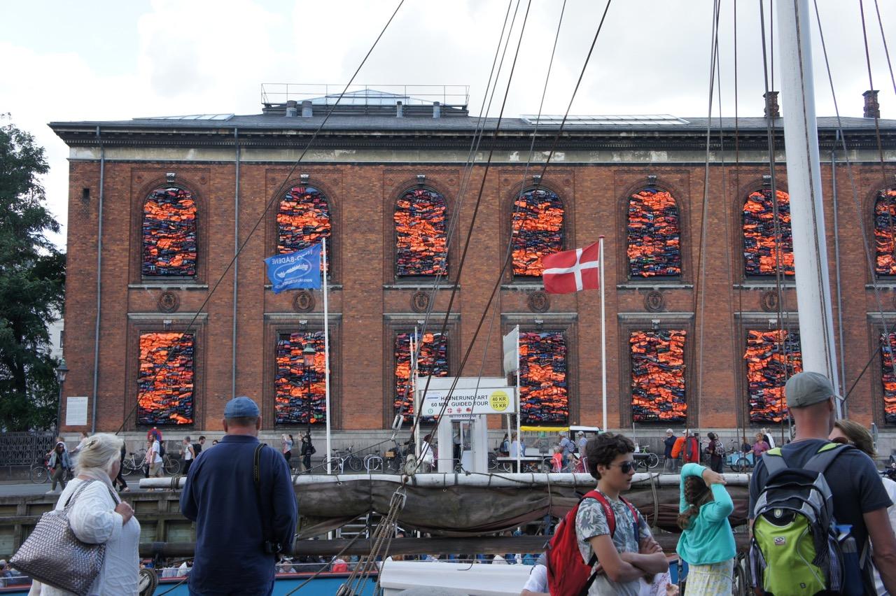 Kunsthal Charlottenburg met werk van Ai Weiwei