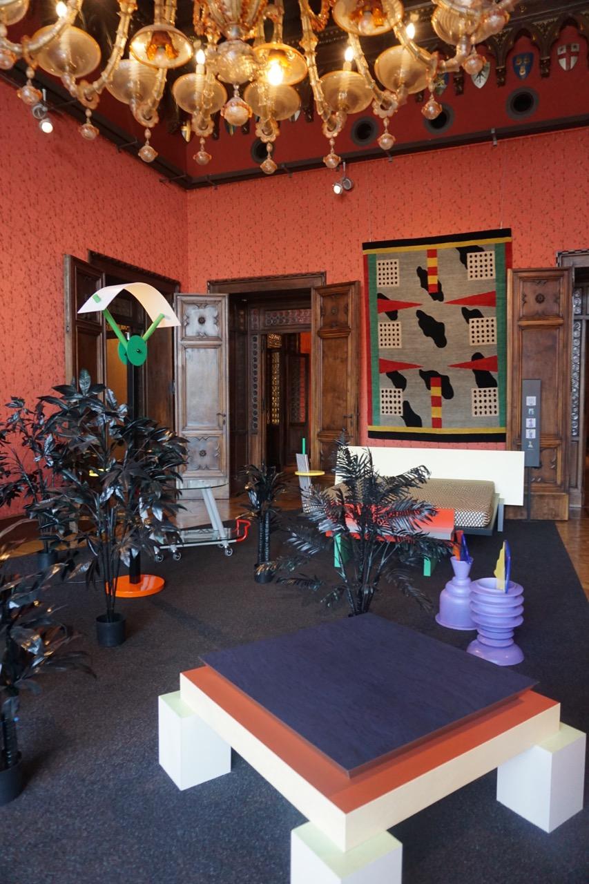 Memphis collectie in Palazzo Cavalli-Franchetti