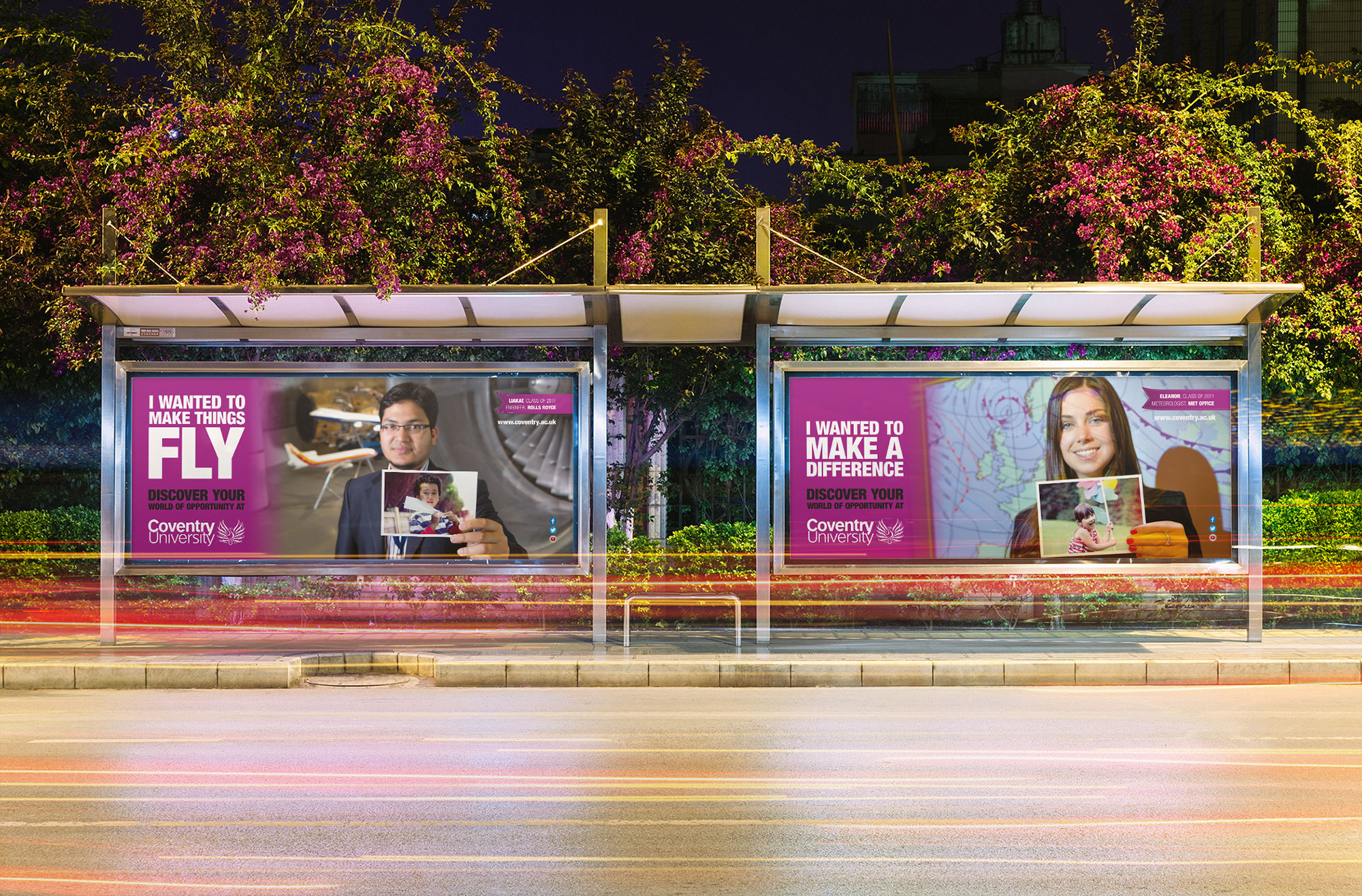 I wanted to advertising campaign