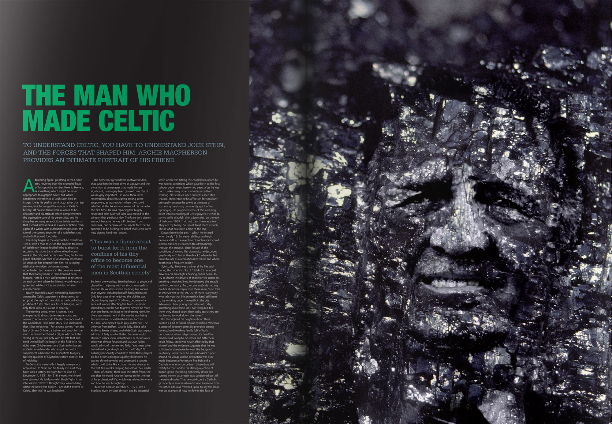 The man who made Celtic