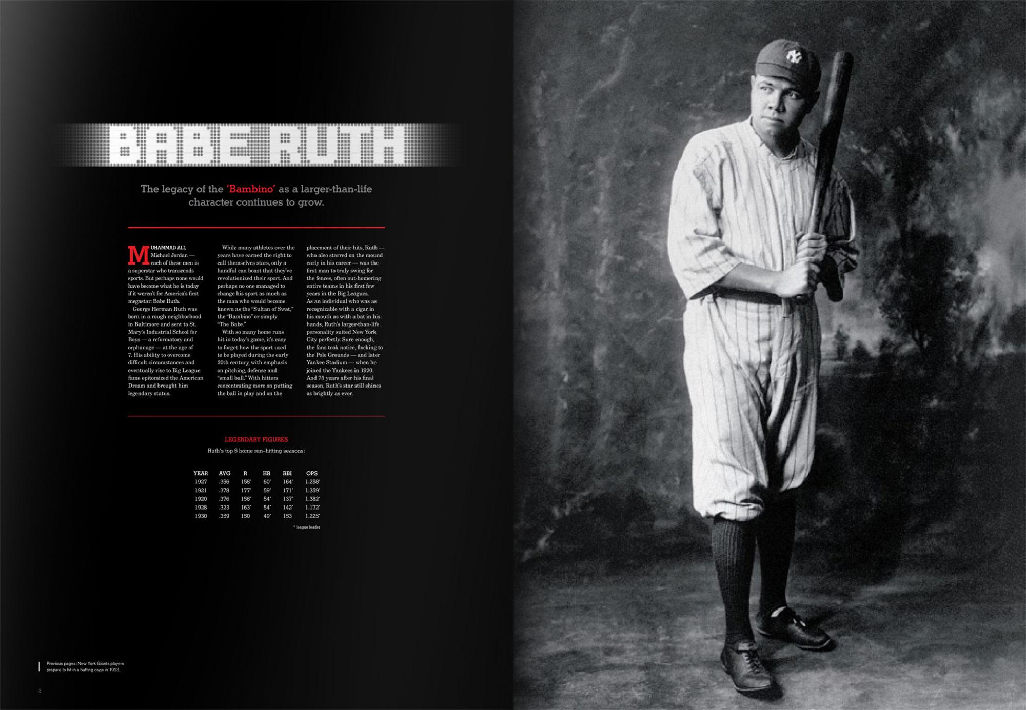 Babe Ruth profile