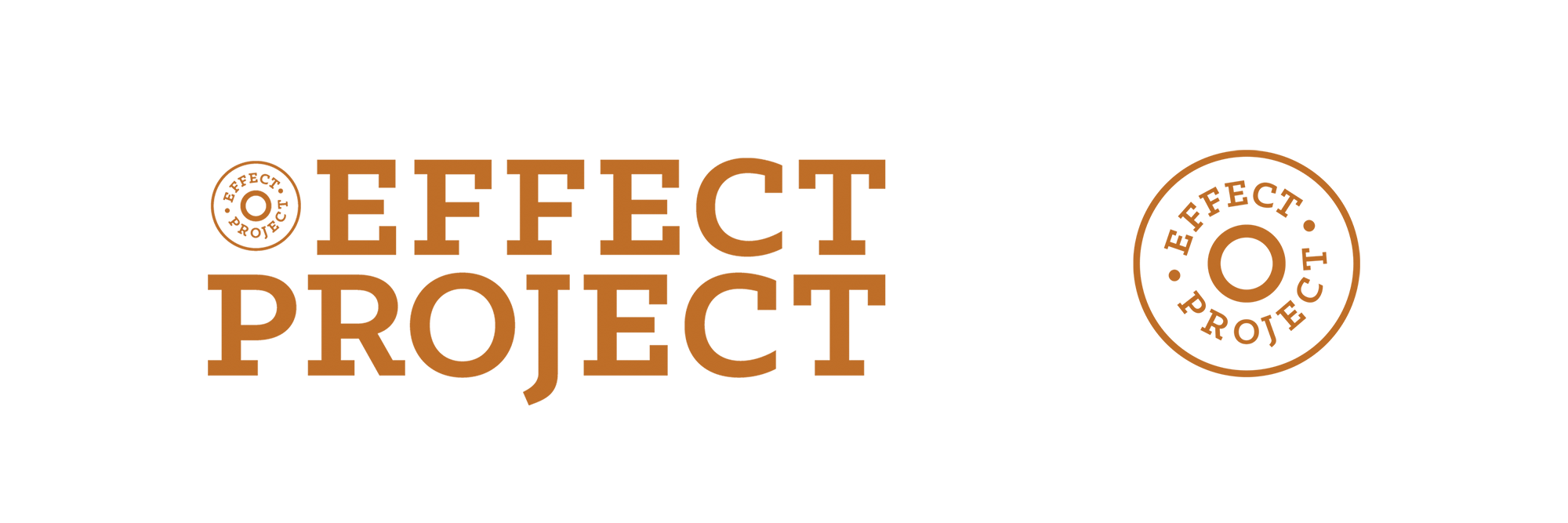 EFFECT Project brand identity logos by Martin Sully. Based in Auckland, New Zealand, and Newcastle, NSW, Australia.