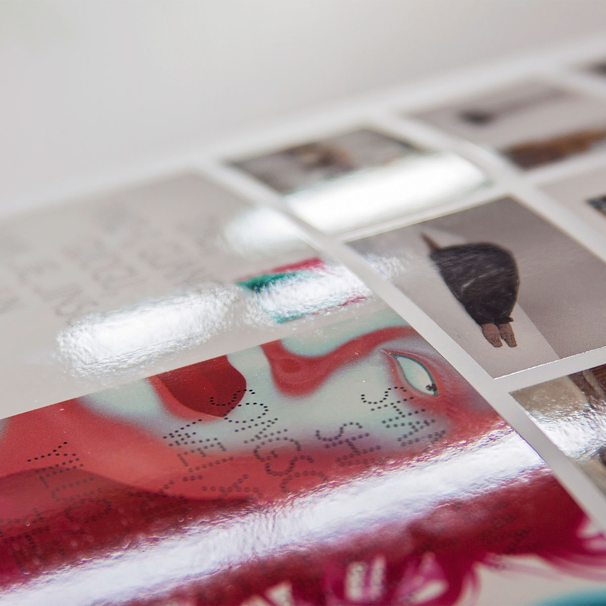 The Saatchi Gallery poster, booklet and invite design