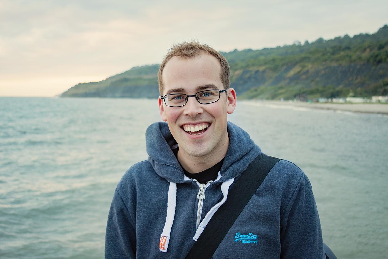 Portrait of Martin Sully, a brand identity, logo, website and print designer