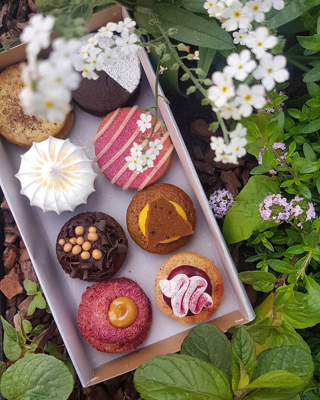 公式インスタグラム   @leckerbaer   より。人気の8種類のクッキーセット!テイクアウトして公園でのんびりピクニックしても最高!