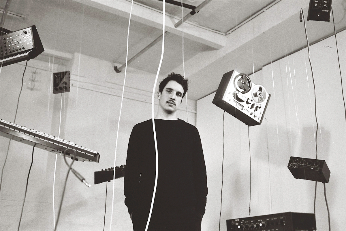 ".Dauwd - Installation and press shots for debut album ""Theory of colors"" on Ninja TuneBerlin 2017"