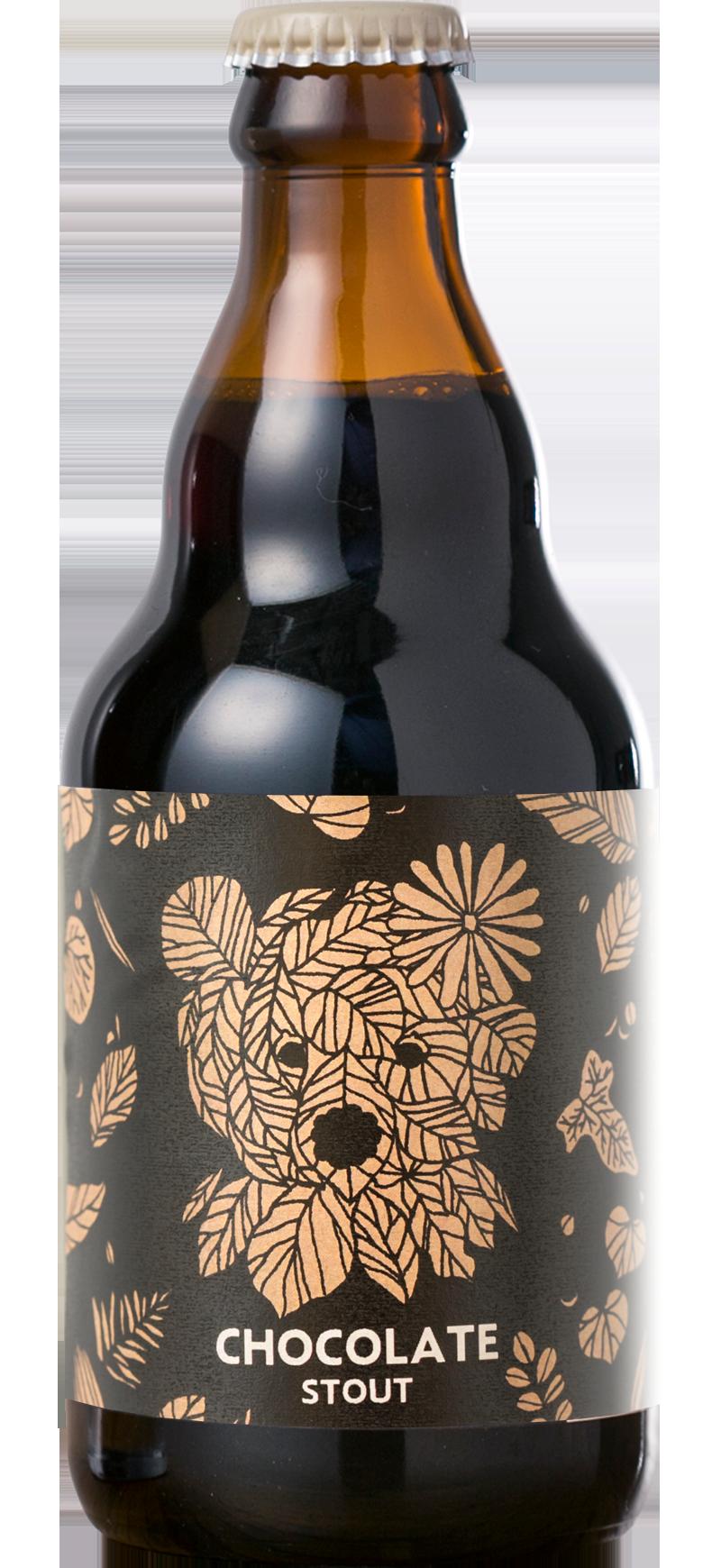 Baeren chocolate stout beer ボトル-チョコレートスタウト.png
