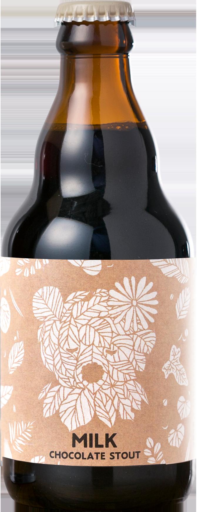 Baeren milk chocolate stout beerボトル-ミルク・チョコレートスタウトボトル.png
