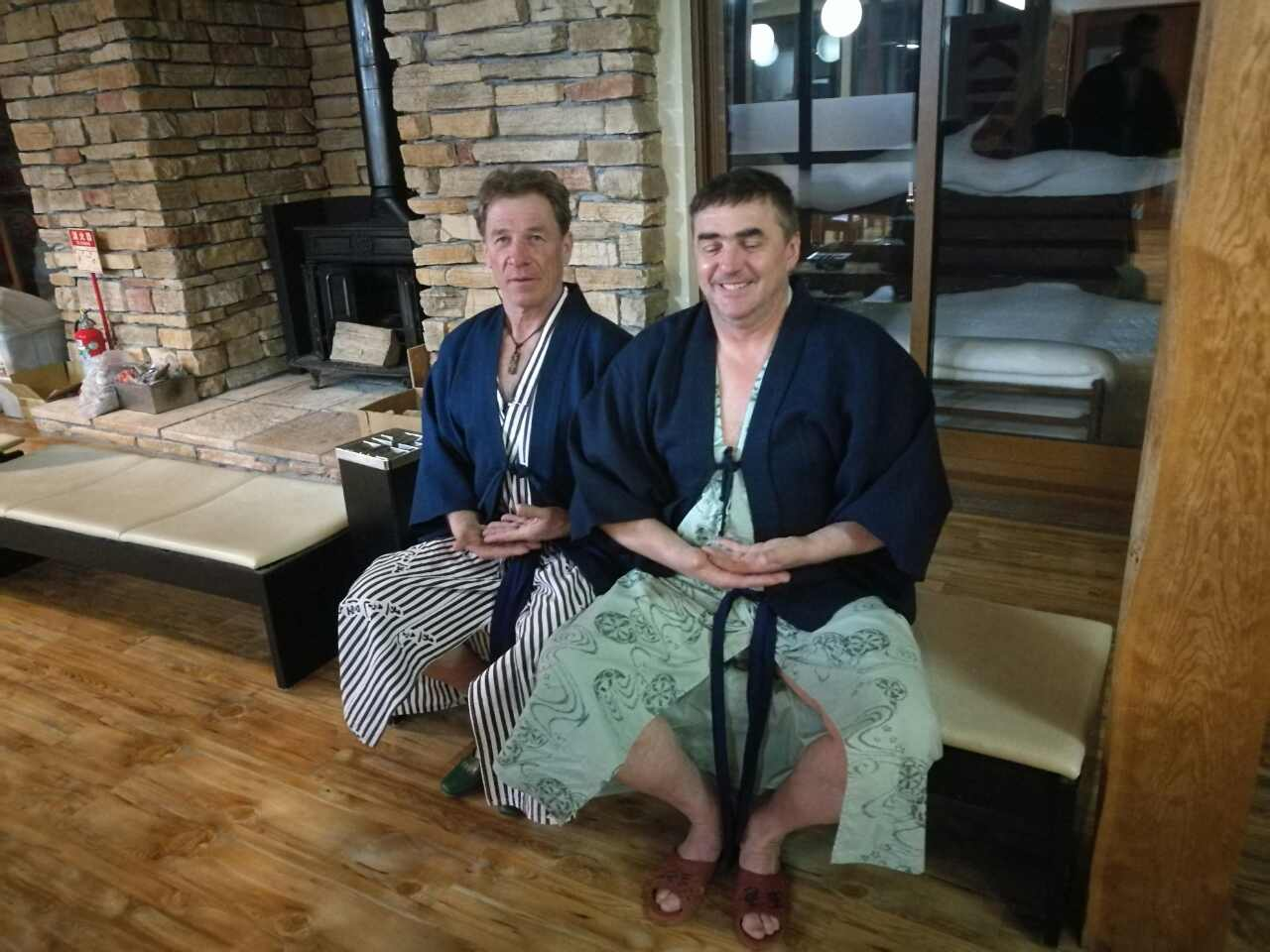 Samuraja Aco in Janez