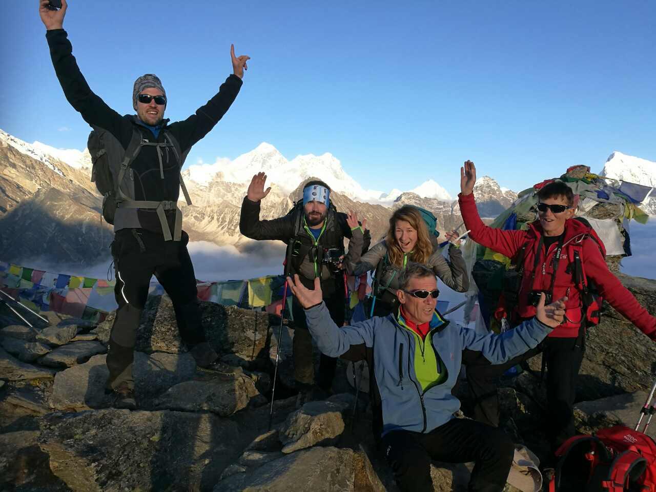 Vrh Gokyo Ri 5360 m
