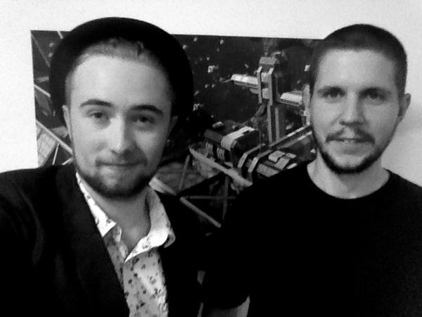 When I metMarek Rosa during my visit to the KSWH studio in Prague - August 2014