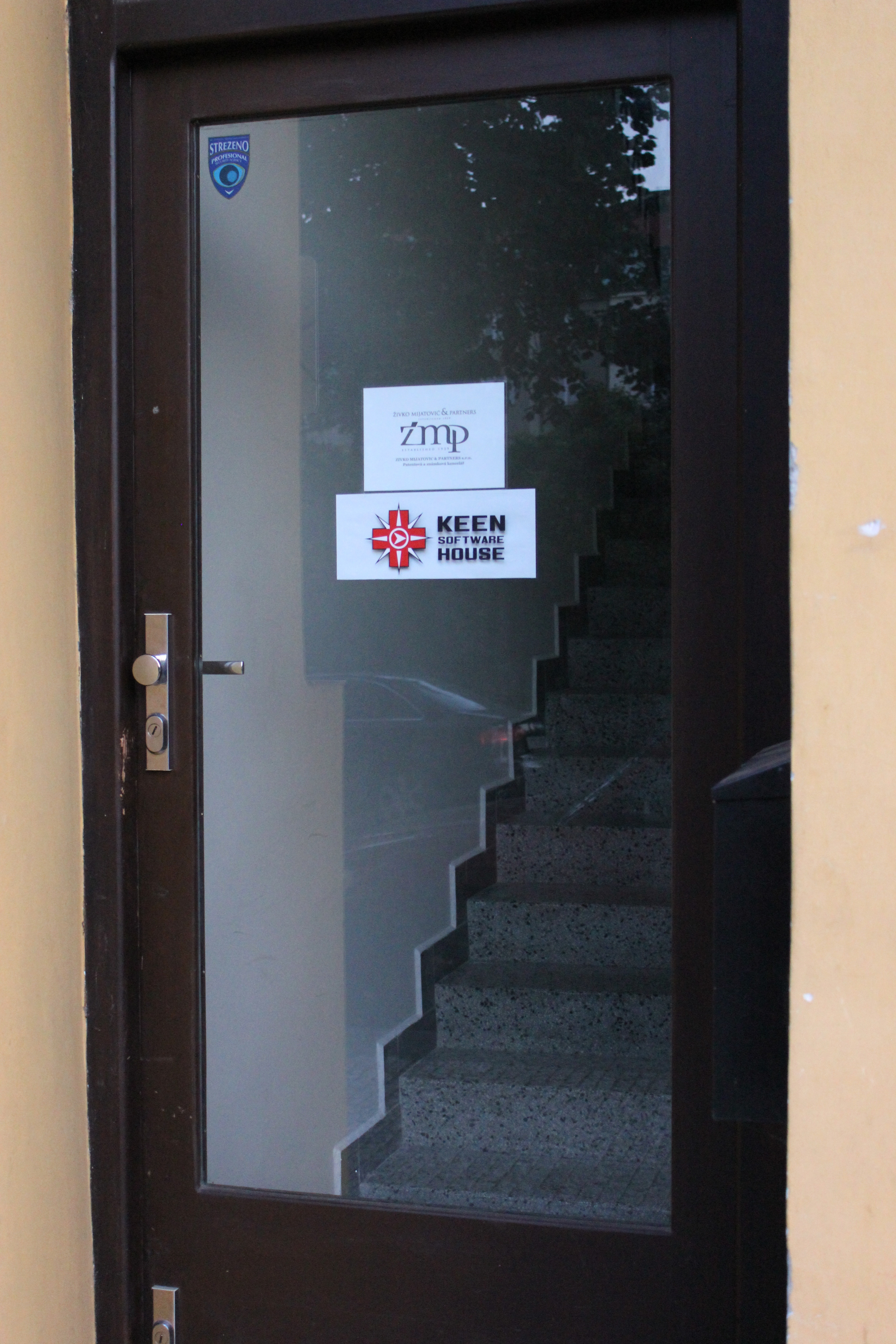 Visiting the KSWH studio in Prague - August 2014