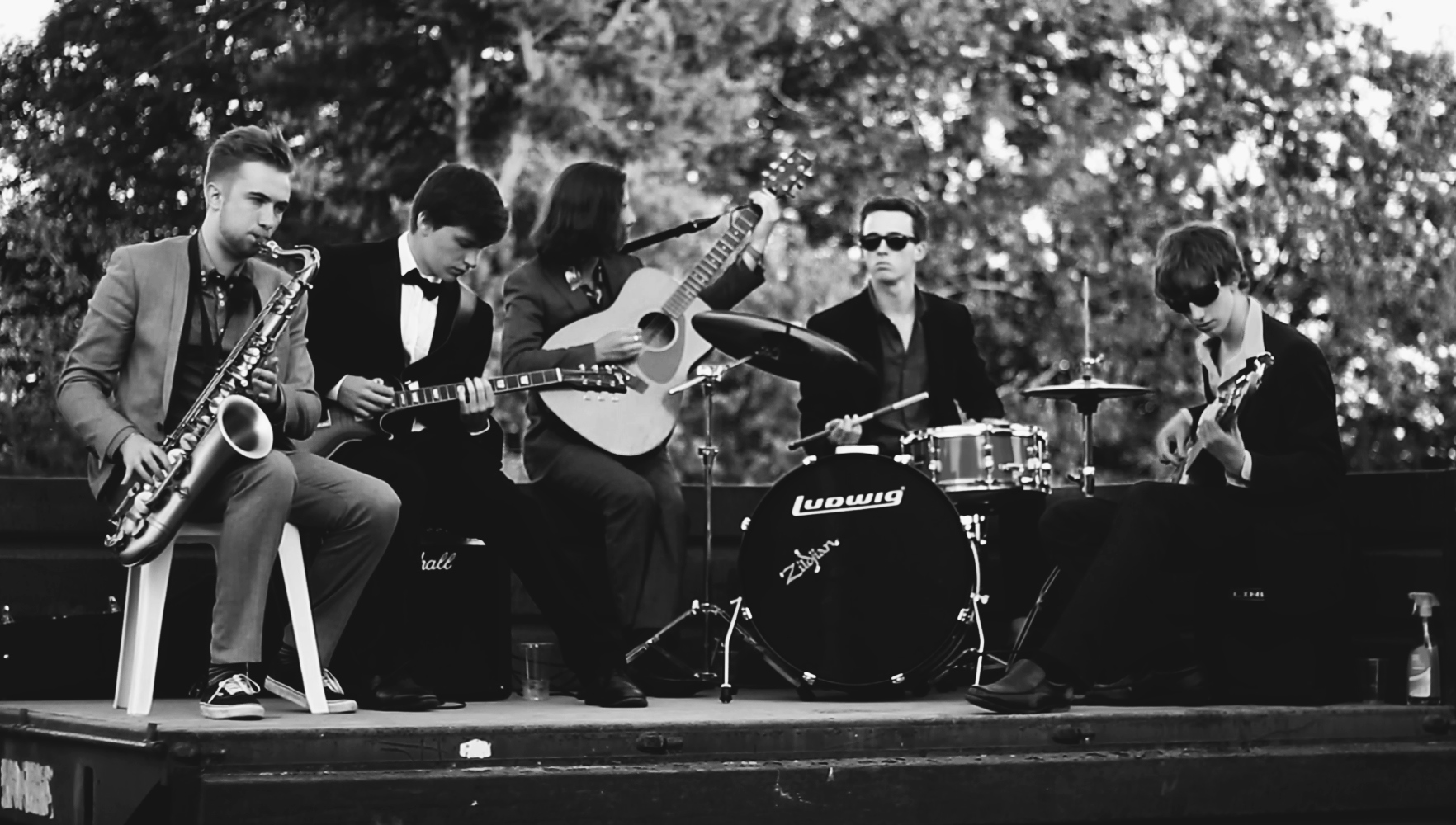Performing with my band - July 2013