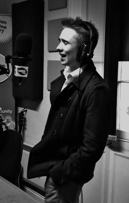 Singing on the radio - March 2013