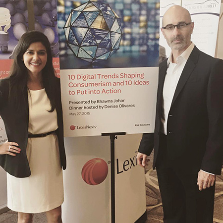 Bhawna Johar and Joe Galli of Carpenter Group presented at the 2015 LIMRA Marketing and Research Conference in Baltimore.