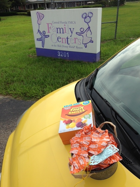 Edible smiles a-plenty: A trip to the YMCA Family Center